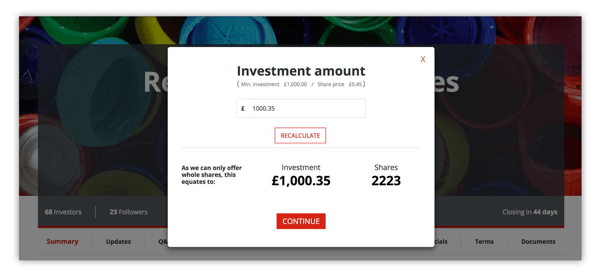 How to invest - step 1